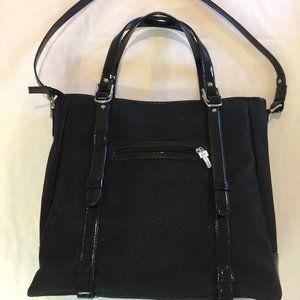 Jack Georges Italian Leather Large Bag/Business